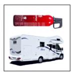 keurmerk brandblusser camper
