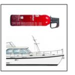 keurmerk brandblusser boot