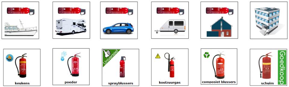shop goedkope brandblussers