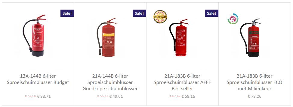 6-liter-schuimblusser